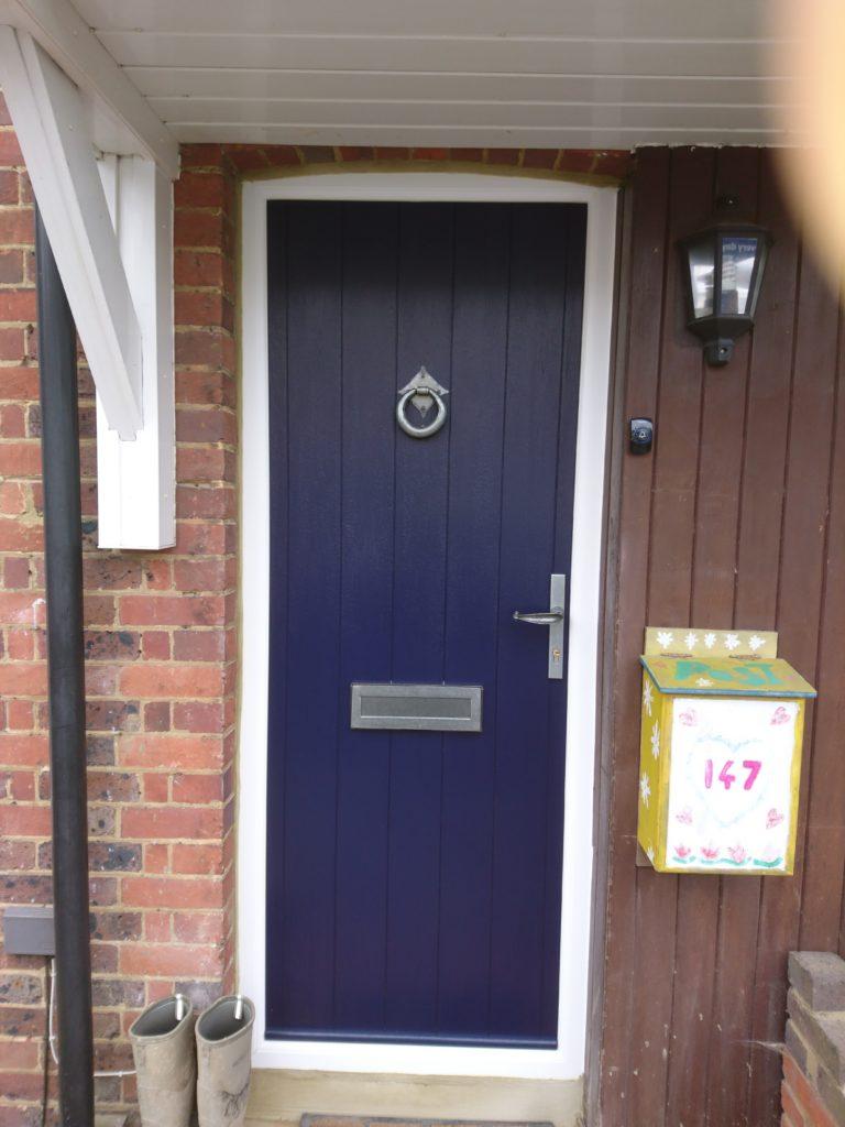 Solidor Flint Solid Door Installation P R Windows Ltd