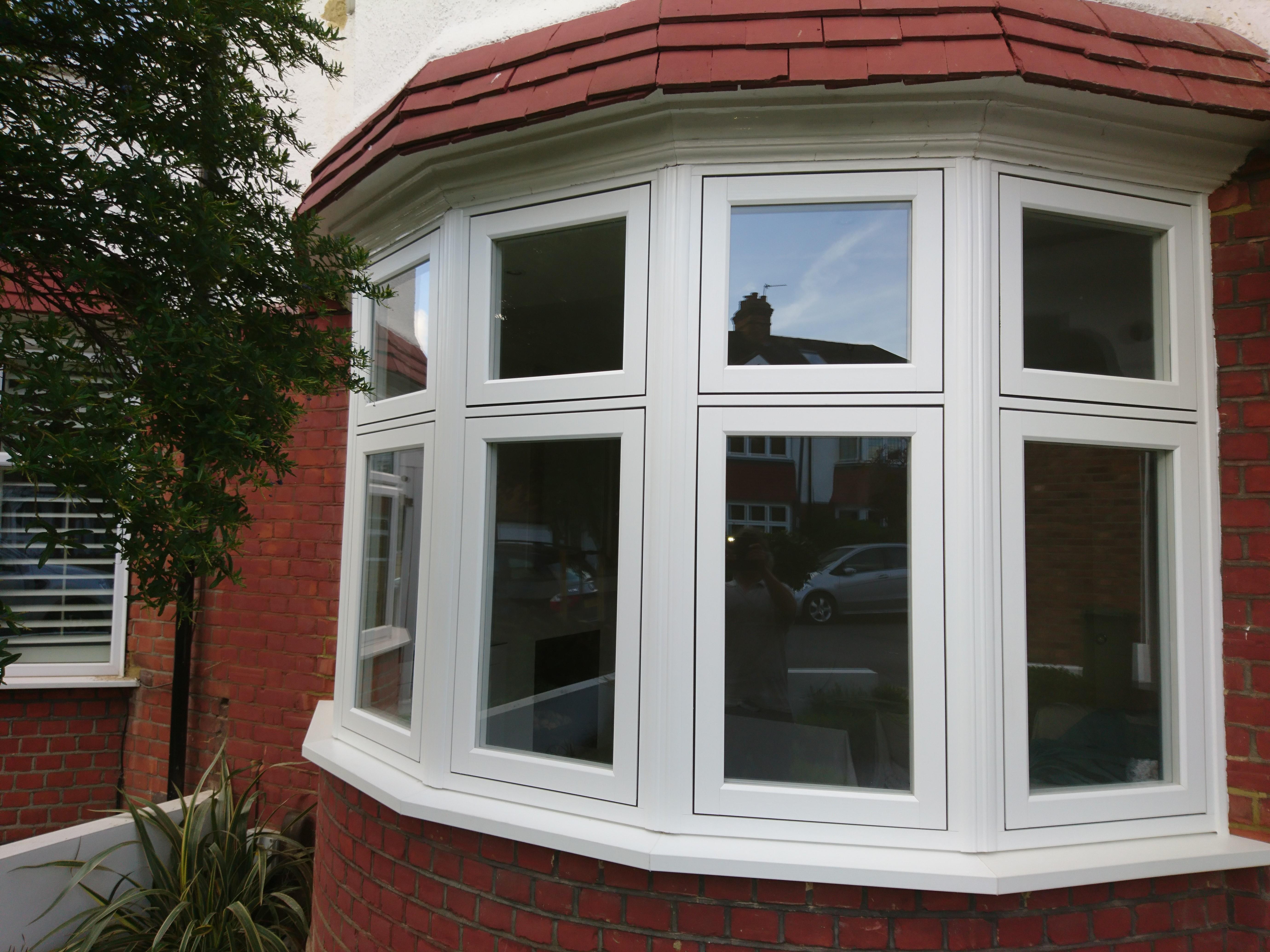 Residence 9 Bay Window Installation P R Windows Ltd